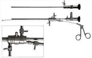 Гистероскоп операционный с волоконным световодом
